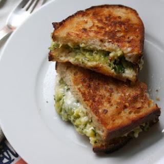 Golden Zucchini Sandwich.