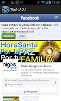 Screenshot of Radio Amigos de Jesus