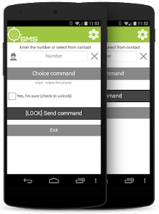 SMS client for AndroidLost screenshot 3