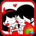 Couple dodol launcher theme icon
