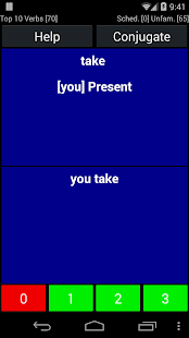 English Verb Trainer- screenshot thumbnail