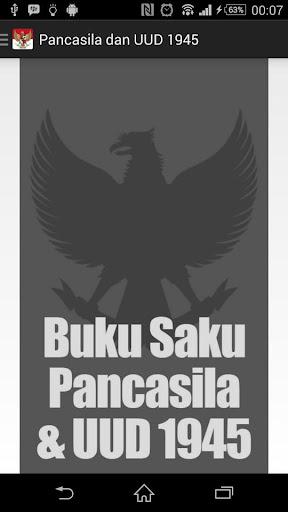 Buku Saku Pancasila UUD 1945