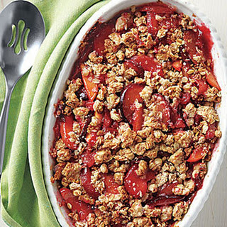 Peach and Plum Crisp Recipe