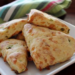 Smoked Gouda and Jalapeño Potato Scones