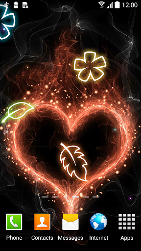 mod Glowing Flowers Live Wallpaper 1.0.8 screenshots 2