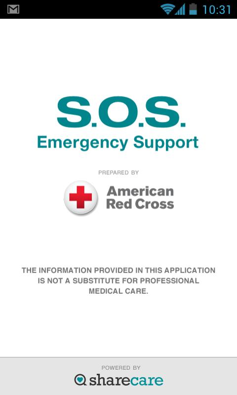 S.O.S. by American Red Cross - screenshot
