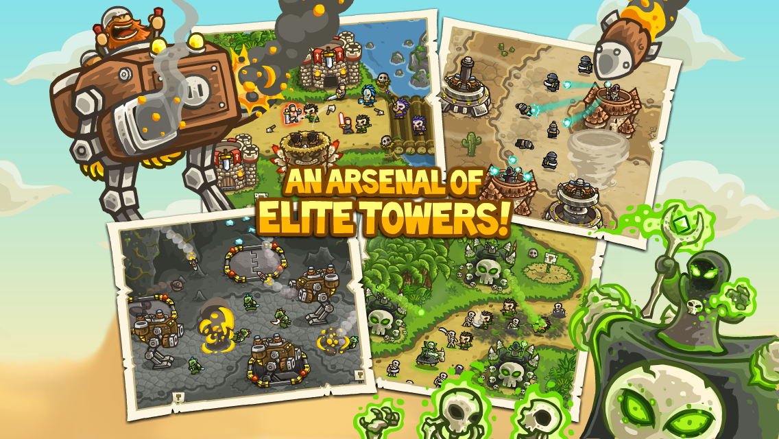 Kingdom Rush Frontiers screenshot #2