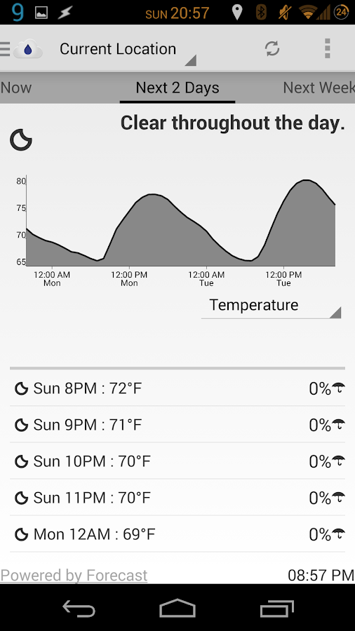 Arcus: Hyper Local Weather - screenshot