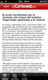 El Correo Web- screenshot thumbnail