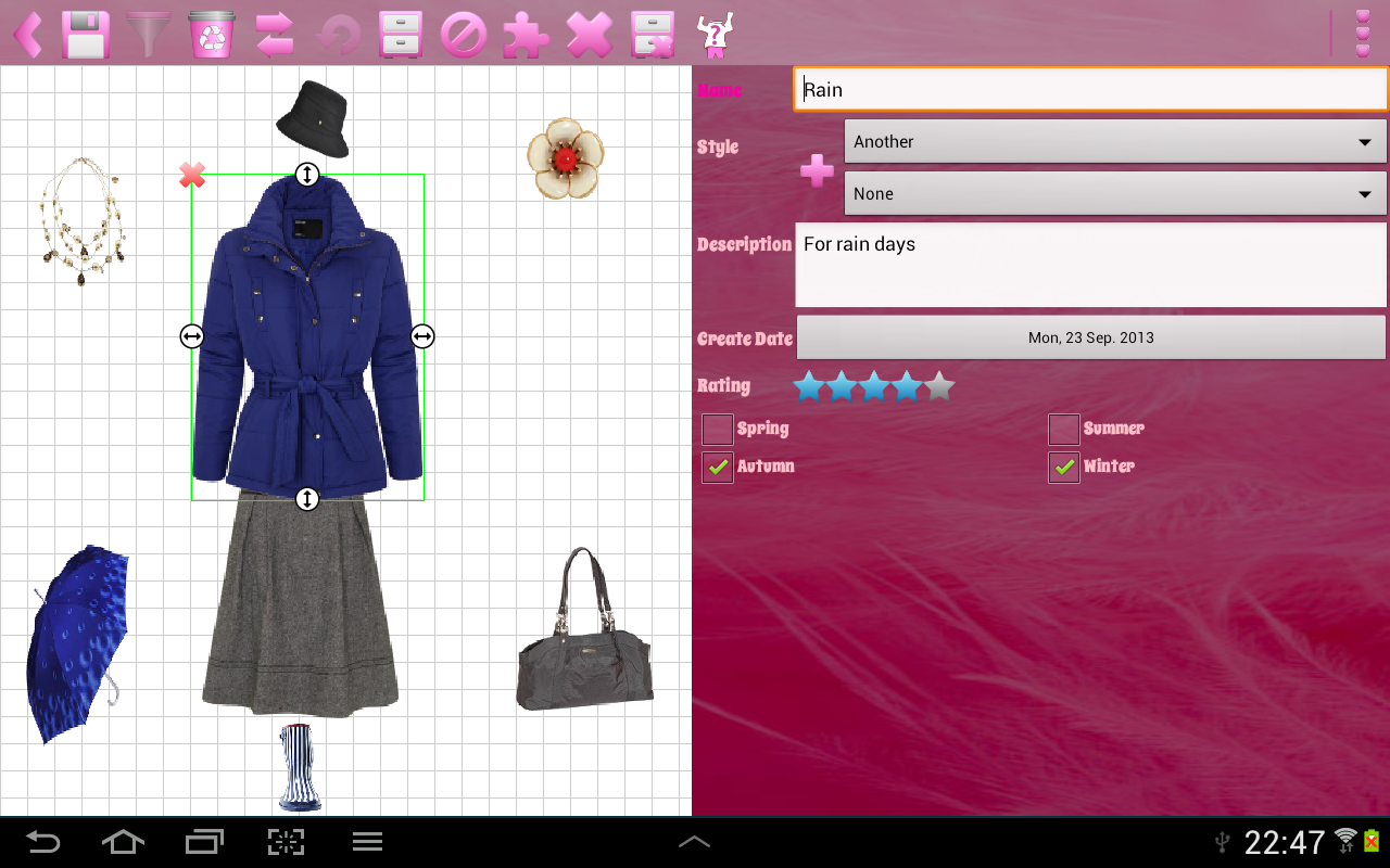 Personal Closet Lite- screenshot