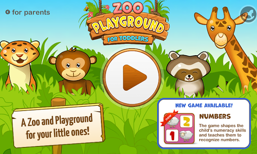 Zoo Playground: Kids game set