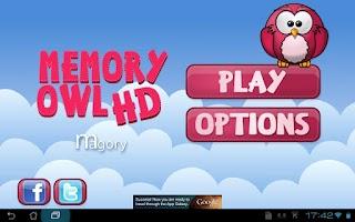 Screenshot of Memory Owl HD