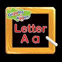 Letter A for LKG Kids Practice