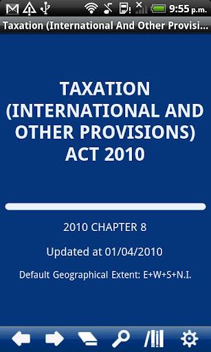 Taxation Act 2010