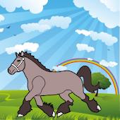 Coloring Book: Horses!