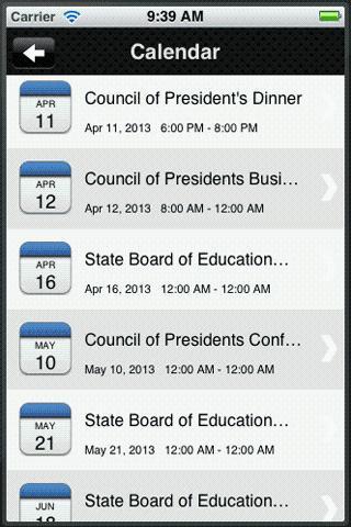 Florida College System- screenshot