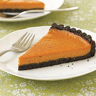 Black-Bottom Pumpkin Tart