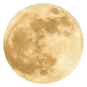 Full Moon Sticker icon