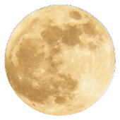 Full Moon Sticker