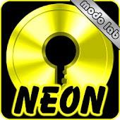 Yellow Neon GO Locker theme