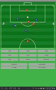 Fodbold Team Organizer Tablet - screenshot thumbnail