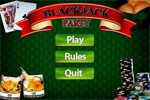 Screenshot of BlackJack Party