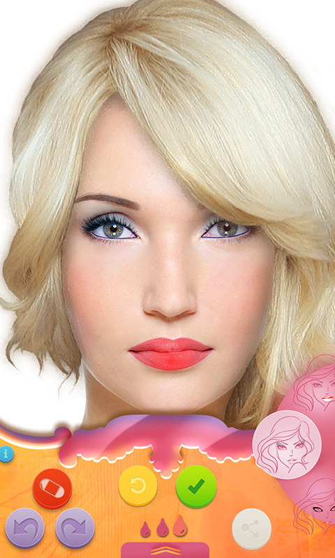 Virtual Makeup Makeover Lite- screenshot
