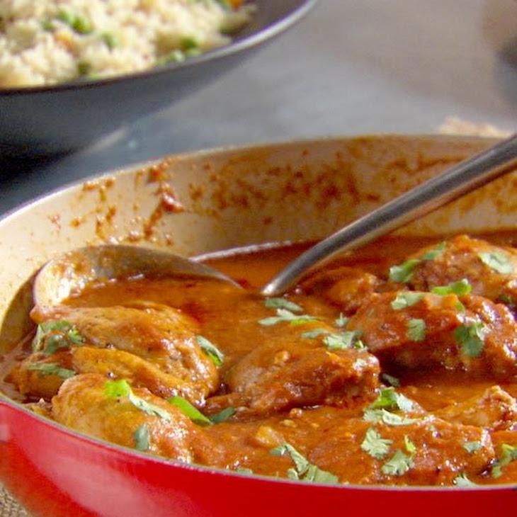 Indian-Spiced Chicken Recipe