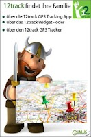Screenshot of 12track GPS Tracking App