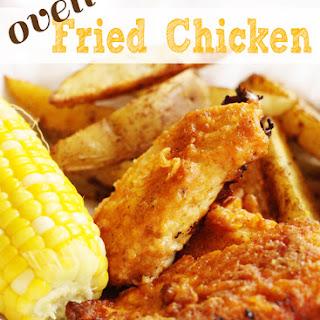 Oven Fried Chicken.