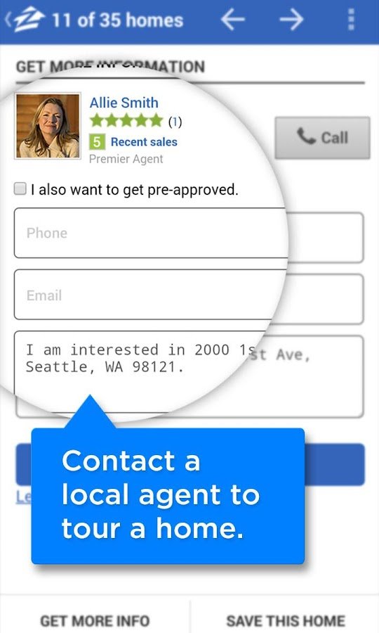 Zillow Real Estate & Rentals - screenshot