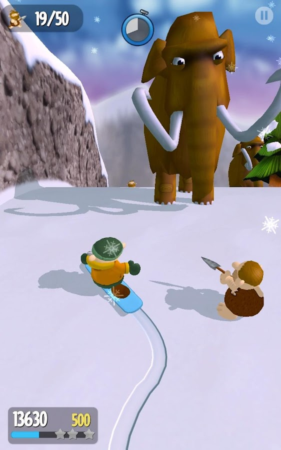 Snow Spin: Snowboard Adventure - screenshot