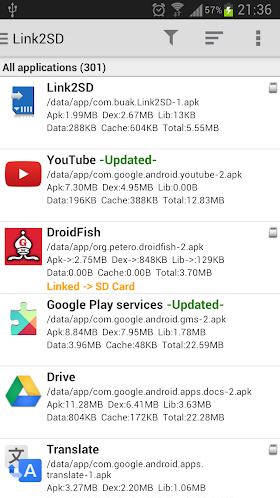 Link2SD Plus 3.6.1 Patched APK