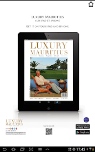 Luxury Mauritius magazine- screenshot thumbnail