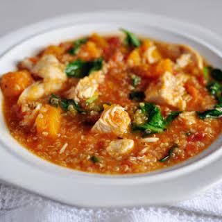 Chicken and Butternut Squash Quinoa Stew.