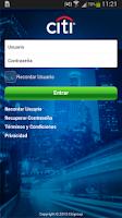 Screenshot of CitiMobile AR