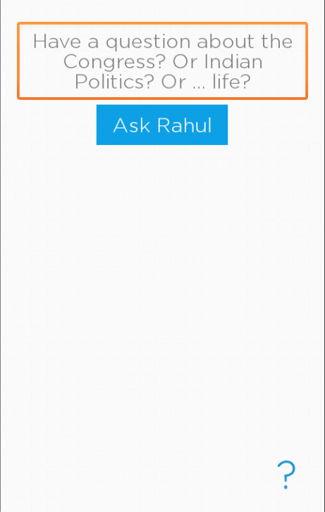 Ask Rahul- screenshot