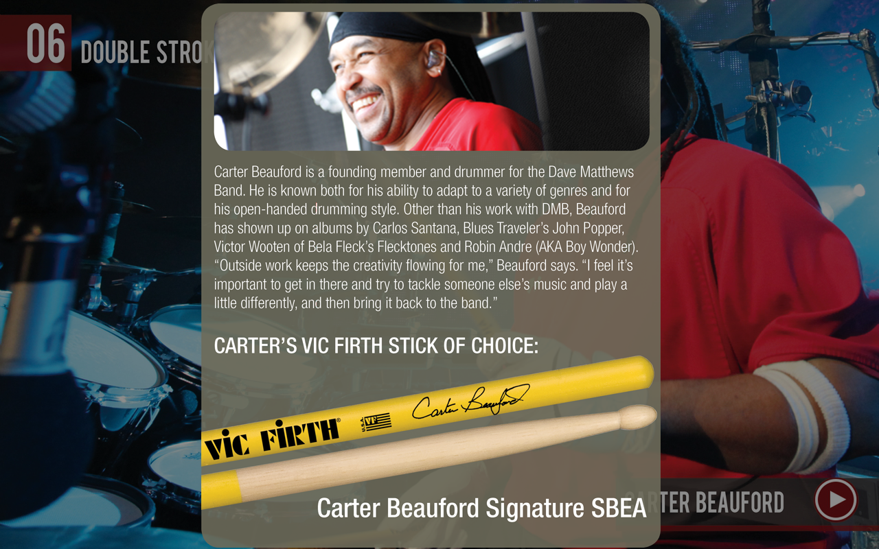Vic Firth - screenshot