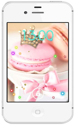 Candy pink live wallpaper
