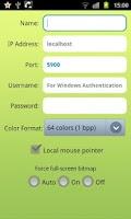 Screenshot of VDIworks VNC - Remote Desktop