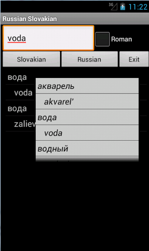 Russian Slovak Dictionary