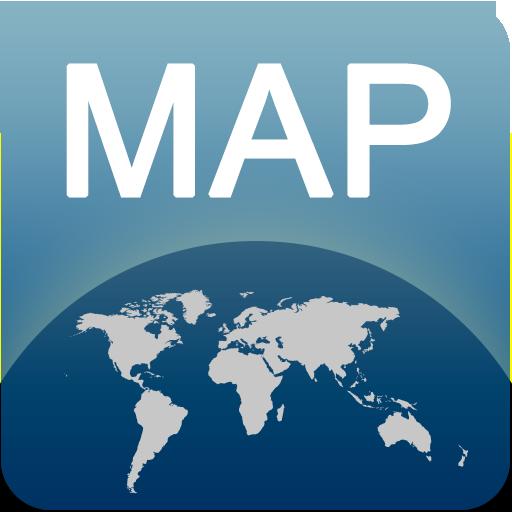 班斯科离线地图 LOGO-APP點子