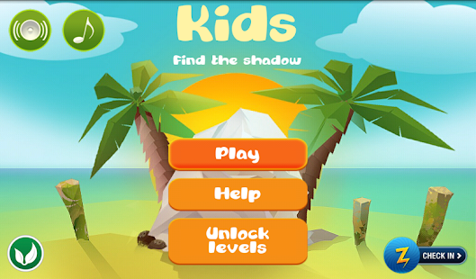 Kids Find the shadow lite - screenshot thumbnail