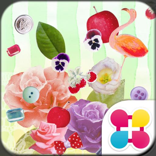 Cute Wallpaper Flamingo Flower Icon
