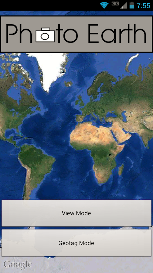 Photo Earth: Map & Geotag Pics- screenshot