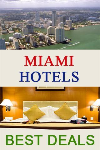 Hotels Best Deals Miami USA