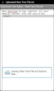 OneCloud Text Editor - screenshot thumbnail