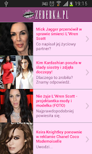 Zeberka.pl- screenshot thumbnail