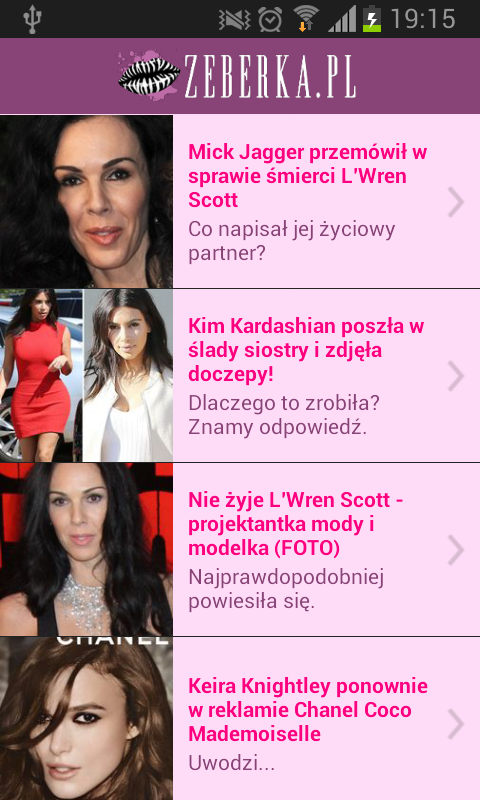 Zeberka.pl - screenshot