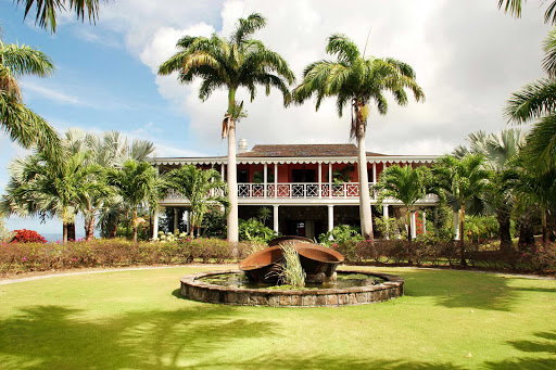 Nevis-Botanical-Gardens - The Botanical Gardens of Nevis, a fragrant collage of palms, orchids, water lily ponds, bamboo groves and other tropical flora.